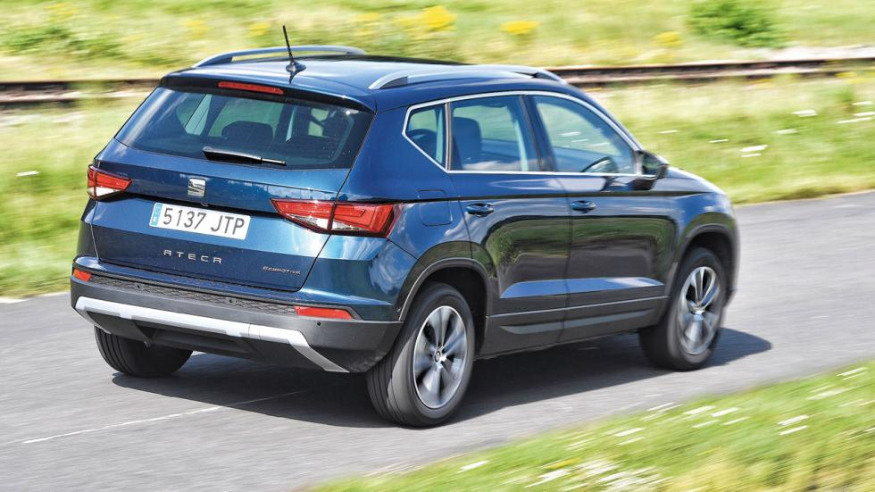 Audi Q2 vs Mini Countryman vs Peugeot 3008 y Seat Ateca