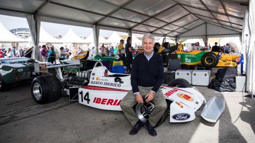 Emilio de Villota y el monoplaza con el que corrió en la F1 en 1976