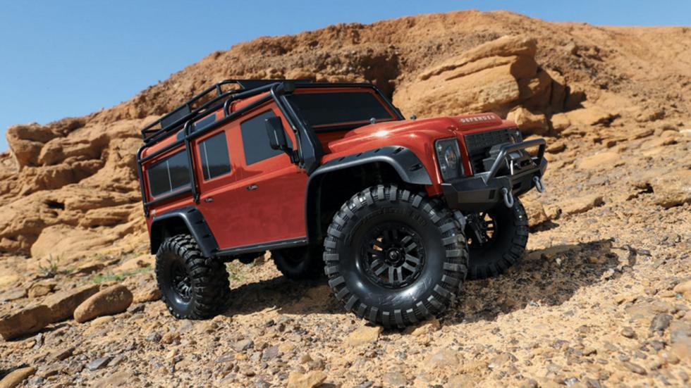 Land Rover Defender teledirigido