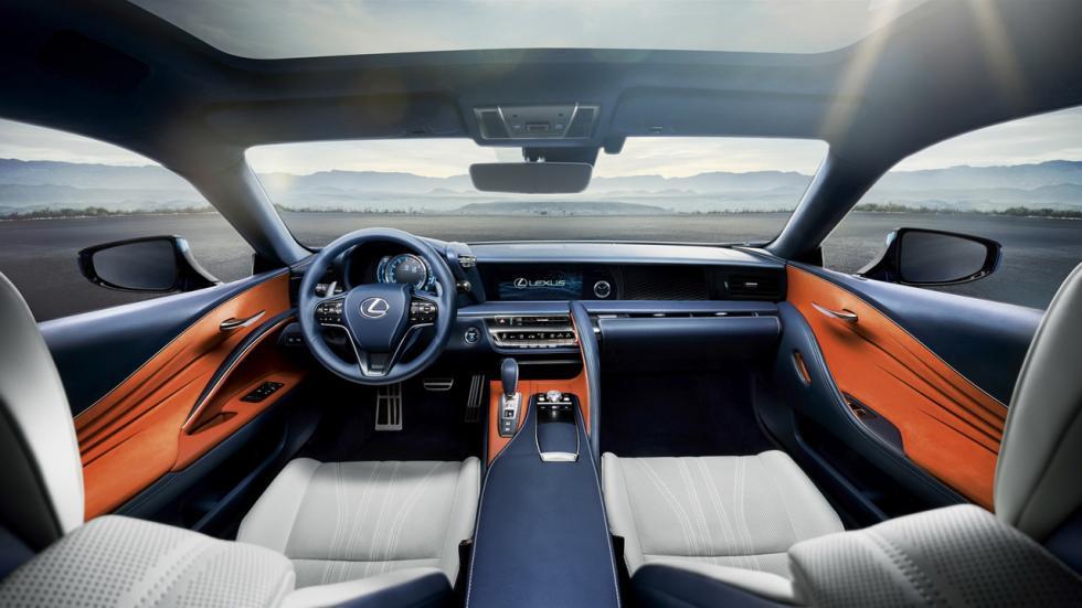 Lexus LC Structural Blue Edition