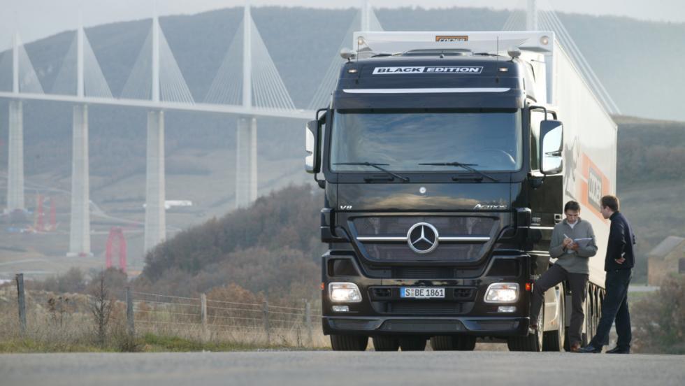 Mercedes Actros: 625 CV