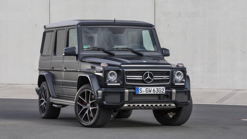 Mercedes Clase G AMG: uno de los coches de Djokovic