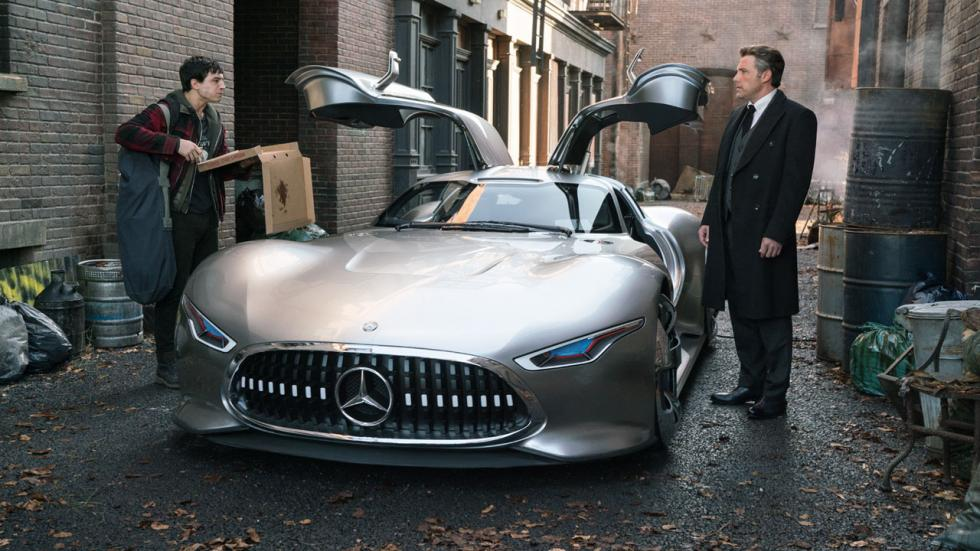 Mercedes en 'Liga de la Justicia'
