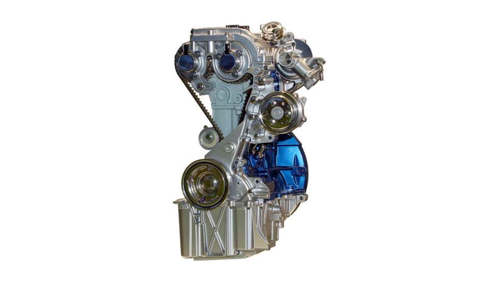 Motor de tres cilindros ecoboost
