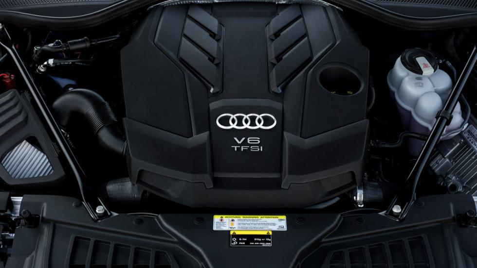 Prueba Audi A8 2017 (motor V6)