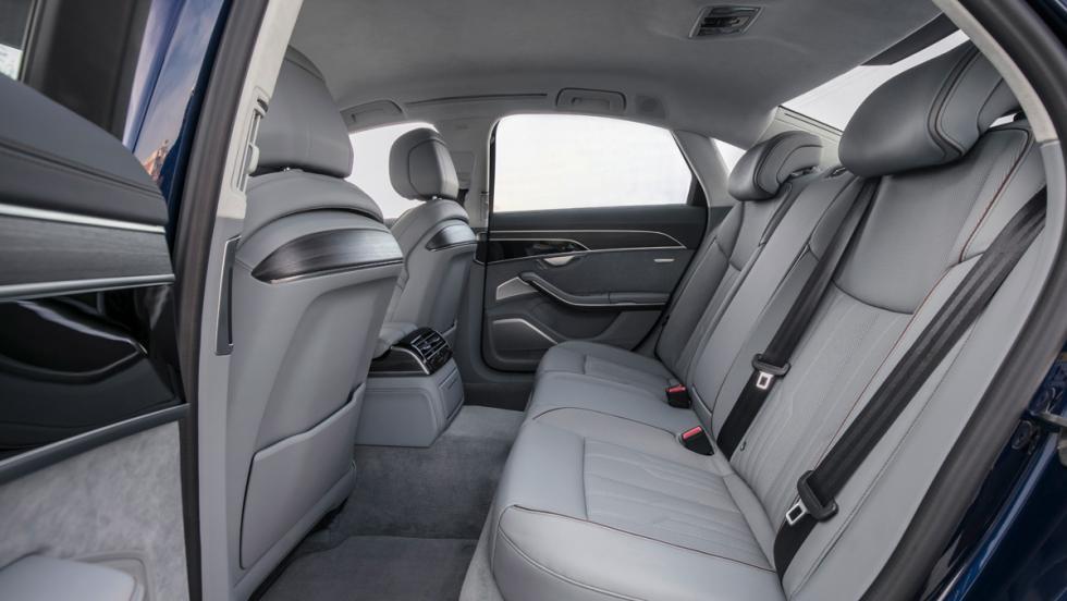 Prueba Audi A8 2017 (asientos traseros)