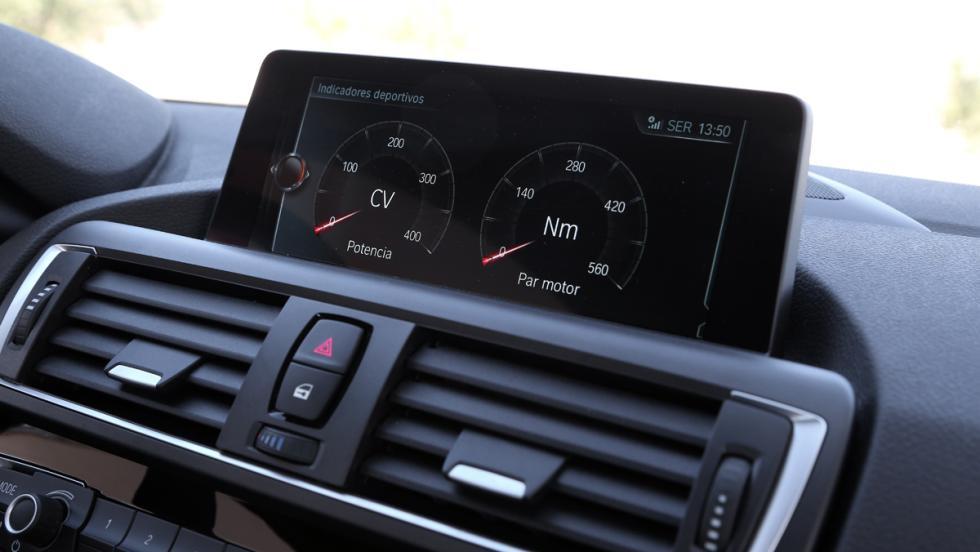 Prueba BMW M2 M Performance (indicadores deportivos)
