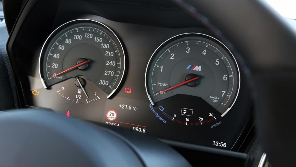 Prueba BMW M2 M Performance (cuadro de instrumentos)