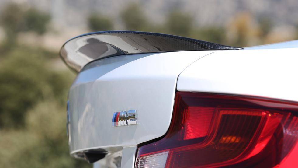 Prueba BMW M2 M Performance (alerón)