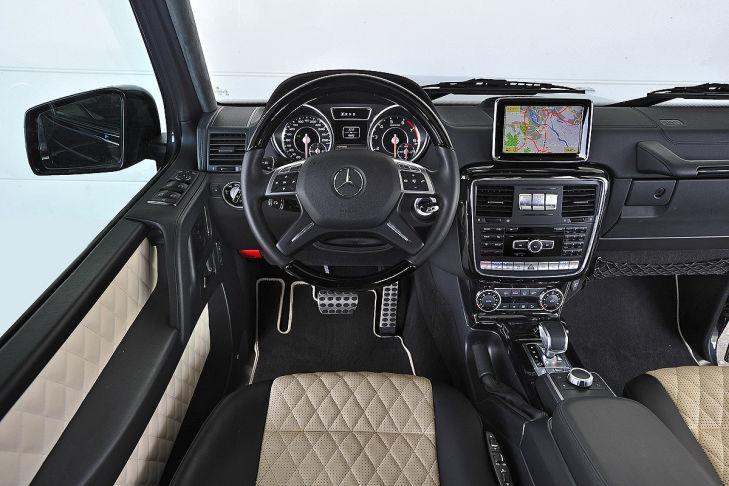 Prueba del Mercedes G 63 AMG
