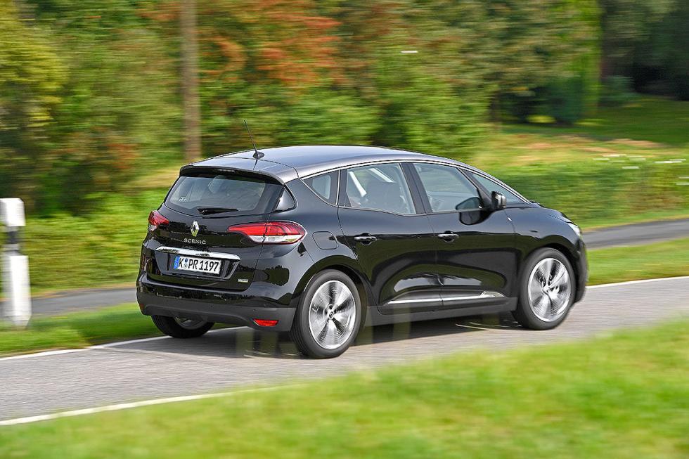 Prueba del Renault Scénic Hybrid Assist