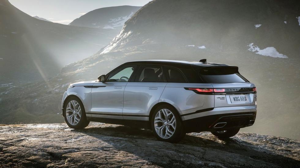 Range Rover Velar 5 estrellas Euro NCAP