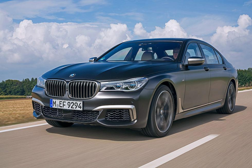 Alpina B7 Biturbo vs BMW M760iL y Mercedes-AMG S 63