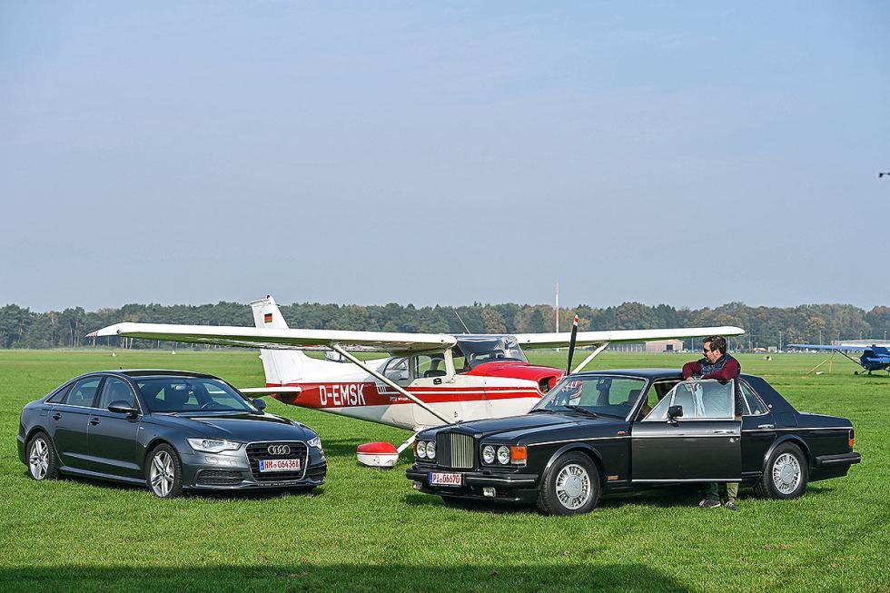 Audi A6 2.0 TFSI vs Bentley Turbo R
