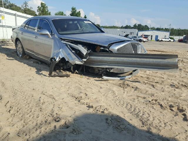 Bentley Mulsanne accidentado
