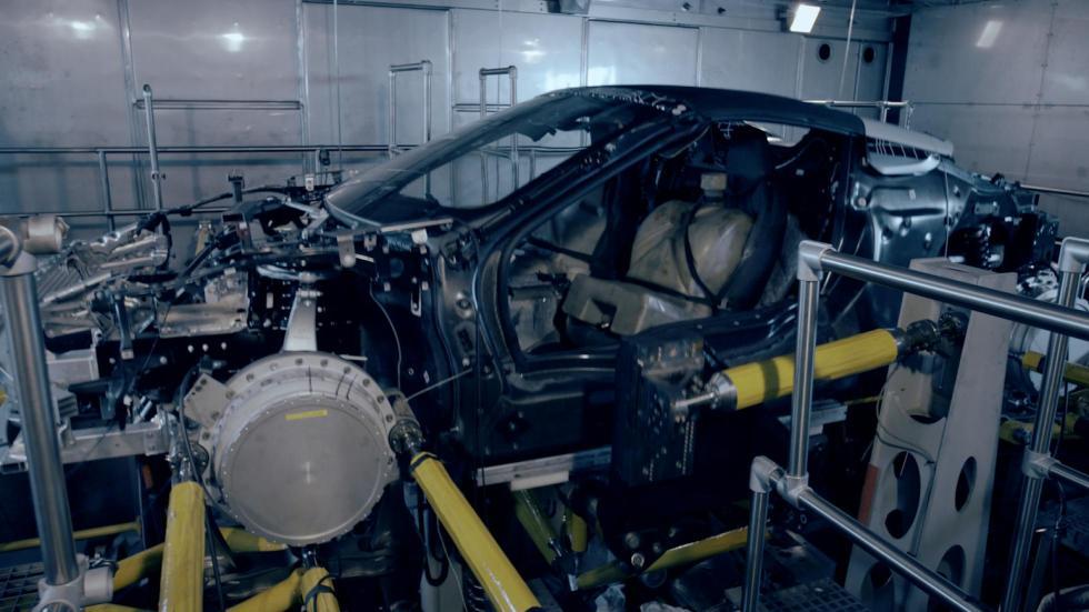 BMW i8 Roadster en la fábrica prototipo primeras fotos