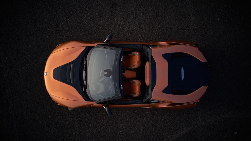 BMW i8 Roadster descapotable lujo hibrido eléctrico