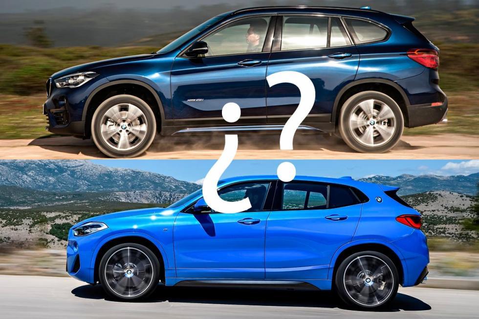 BMW X1 o BMW X2 suv compacto deportivo