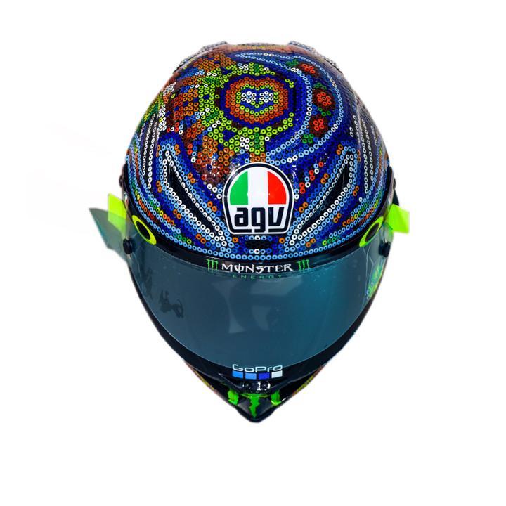 Casco Valentino Rossi Test Invernales MotoGP 2018