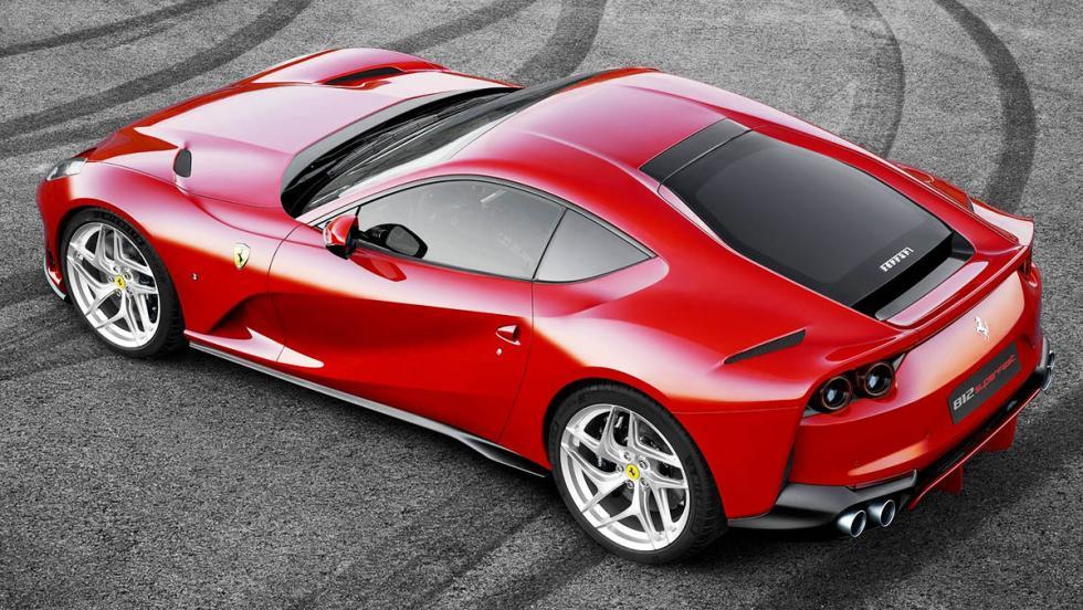 El deportivo perfecto - El motor del Ferrari 812 Superfast