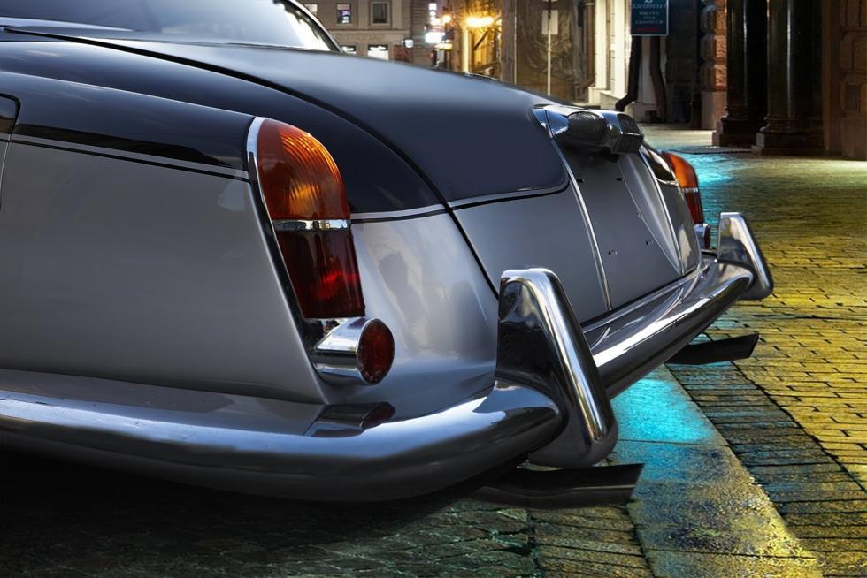 Jaguar 420 de 1969 restaurado