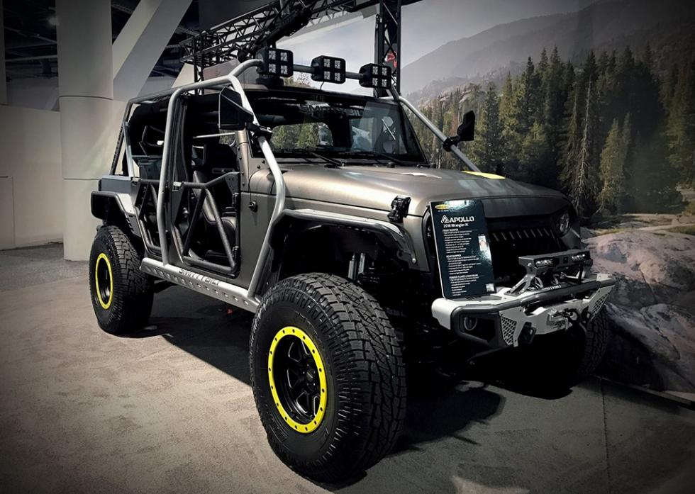 Jeep Wrangler by Alpine