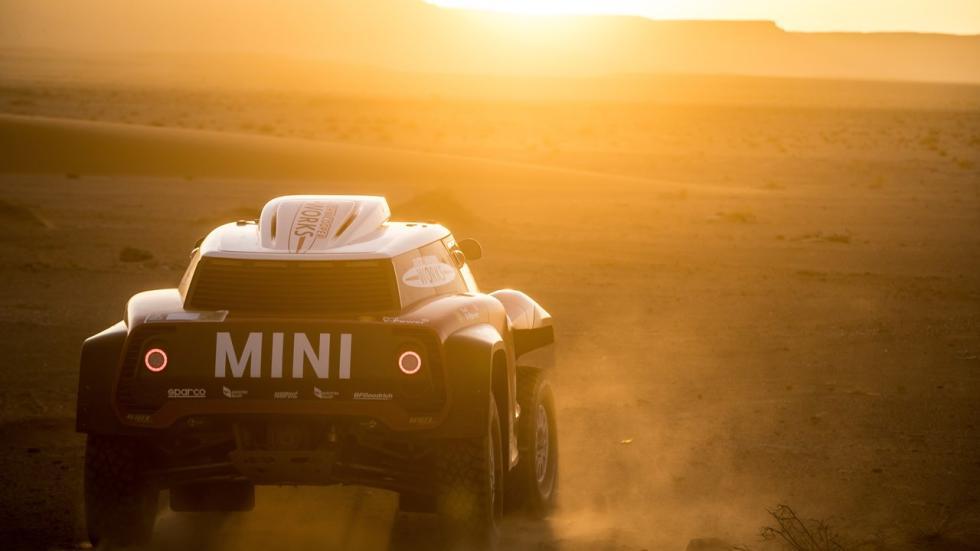 Mini John Cooper Works para el Dakar 2018