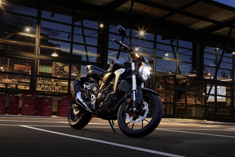 Nueva Honda CB300R 2018