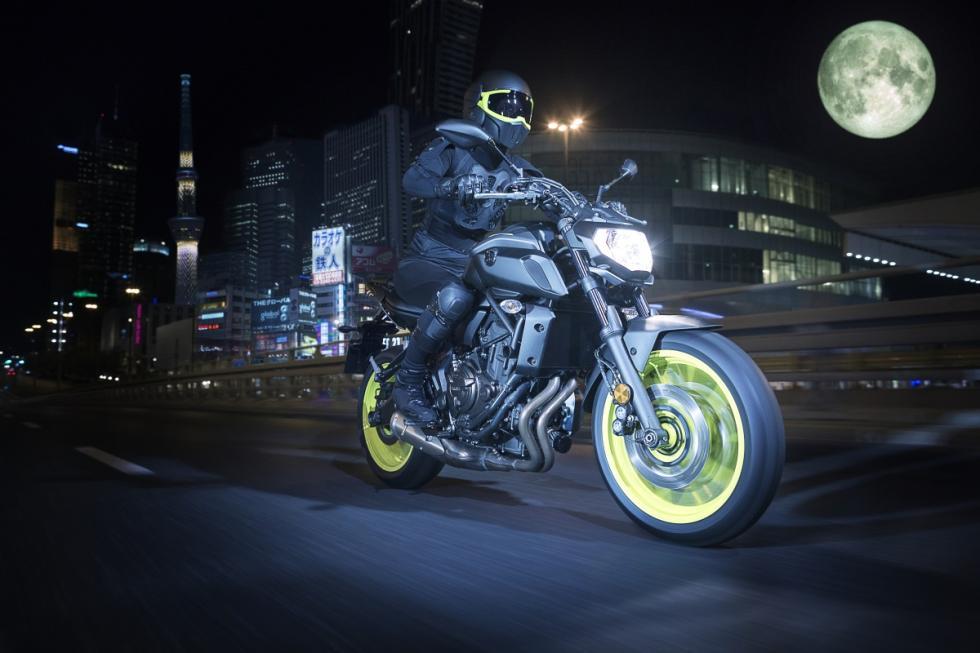 Nueva Yamaha MT-07 2018