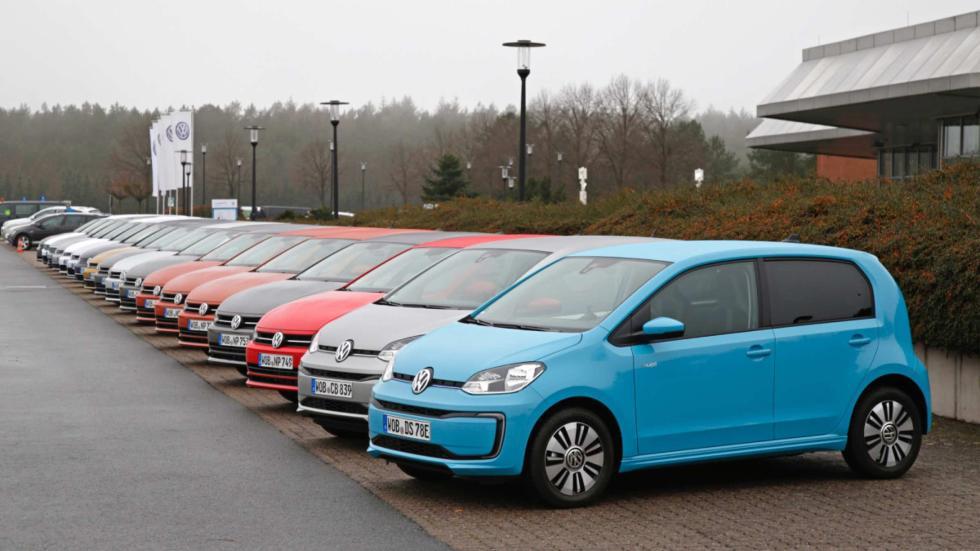 En la presentación, pudimos probar todos estos coches equipados con los nuevos motores