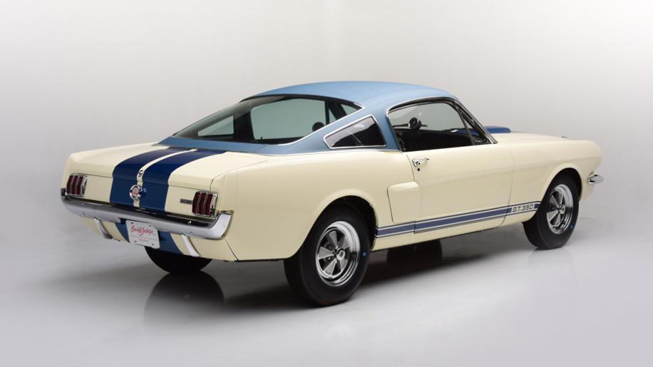 Prototipo Shelby GT350 1966
