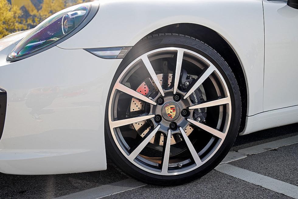 Prueba del Porsche 911 Carrera