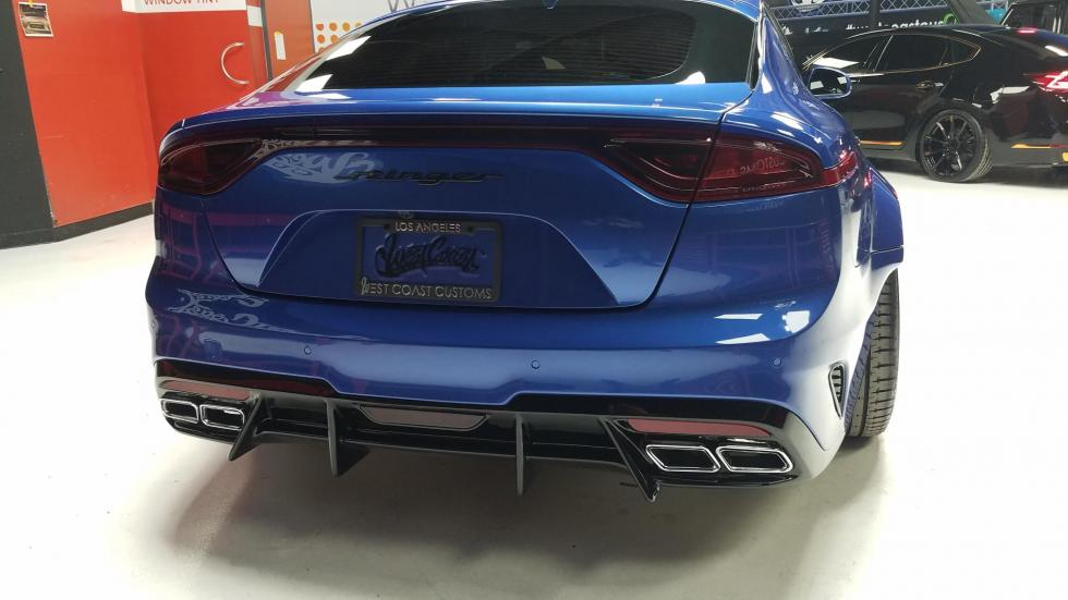 Special Kia Stinger GT Wide Body