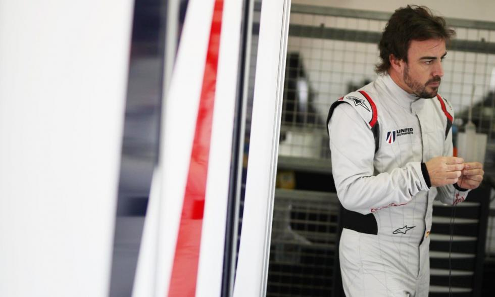 Test de Alonso con United Autosport