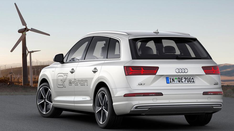 Todos los coches híbridos que puedes comprar - Audi Q7 e-tron