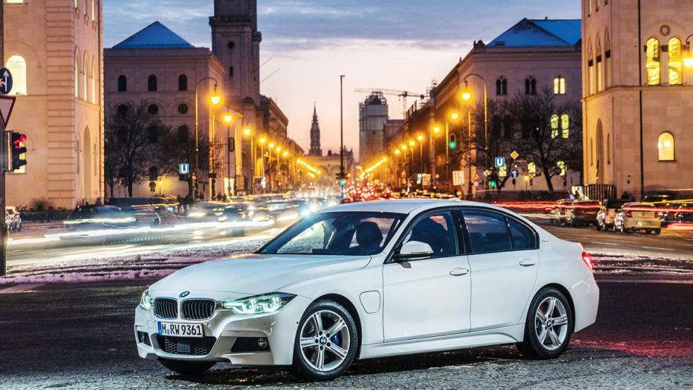 Todos los coches híbridos que puedes comprar - BMW Serie 3