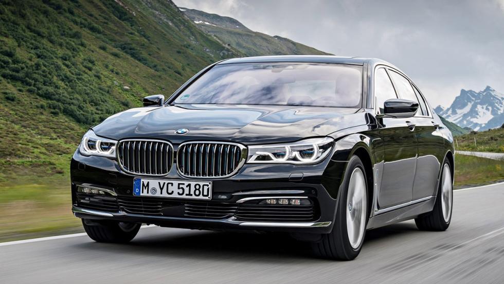Todos los coches híbridos que puedes comprar - BMW Serie 7
