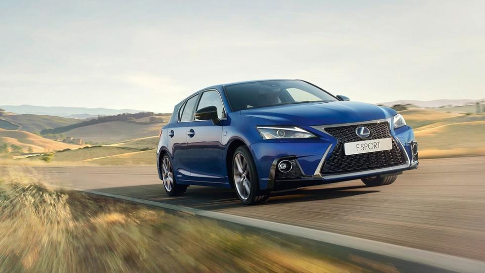 Todos los coches híbridos que puedes comprar - Lexus CT