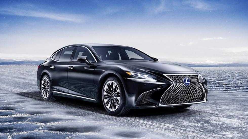 Todos los coches híbridos que puedes comprar - Lexus LS