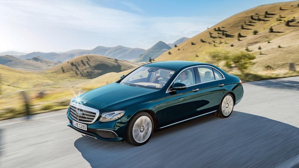 Todos los coches híbridos que puedes comprar - Mercedes Clase E