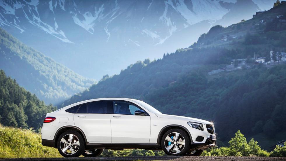 Todos los coches híbridos que puedes comprar - Mercedes GLC