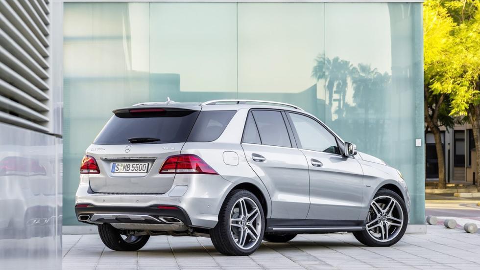 Todos los coches híbridos que puedes comprar - Mercedes GLE
