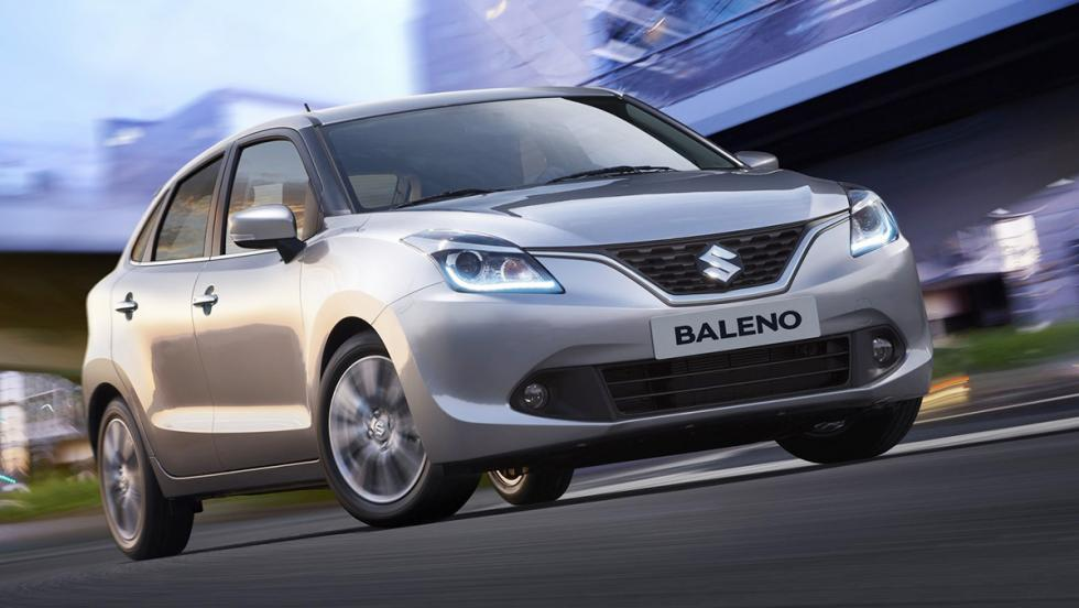 Todos los coches híbridos que puedes comprar - Suzuki Baleno