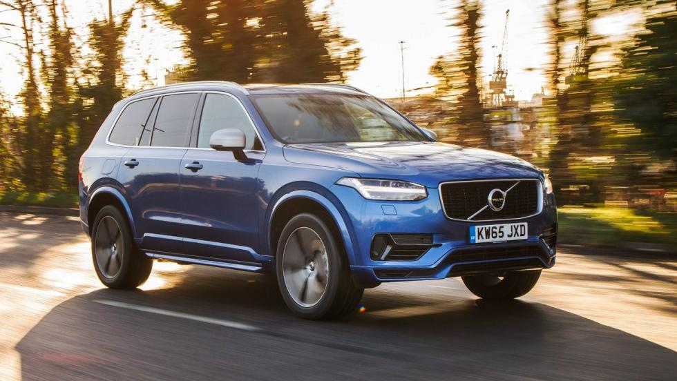 Todos los coches híbridos que puedes comprar - Volvo XC90