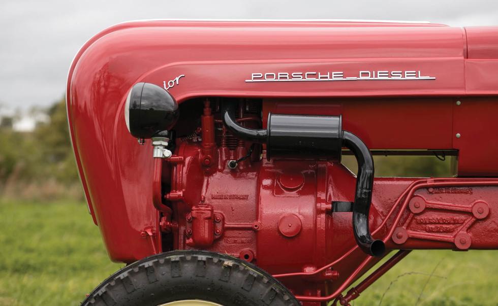 Tractor Porsche