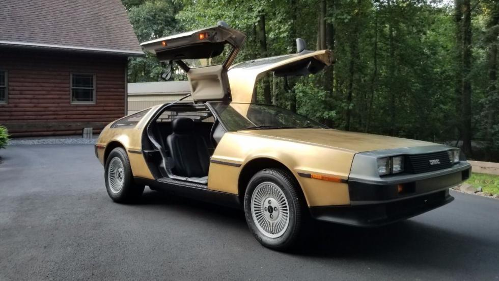 Venta DeLorean DMC-12 dorado