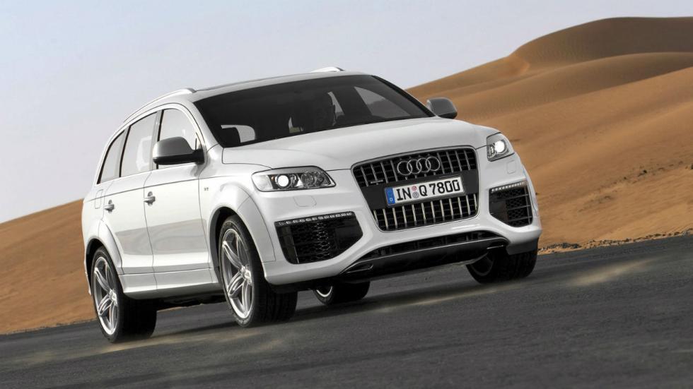 5 coches que pesan más de 2.000 kilos Audi Q7 V12