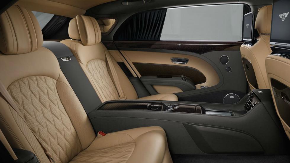 5 coches que pesan más de 2.000 kilos Bentley Mulsanne EWB