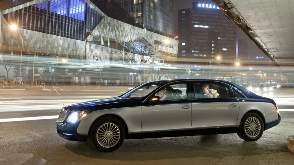 5 coches que pesan más de 2.000 kilos Maybach 62 S