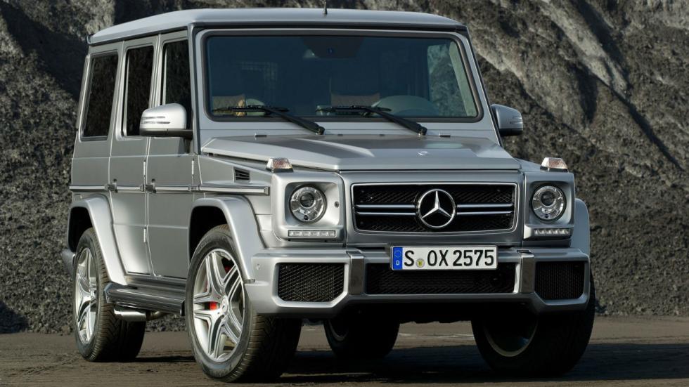 5 coches que pesan más de 2.000 kilos Mercedes G 63